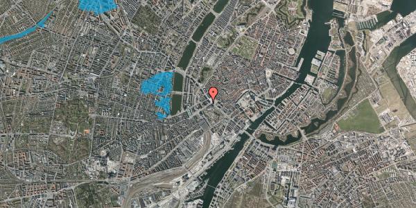 Oversvømmelsesrisiko fra vandløb på Vesterbrogade 2A, 2. , 1620 København V