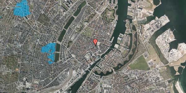 Oversvømmelsesrisiko fra vandløb på Østergade 27, 1. , 1100 København K