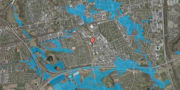 Oversvømmelsesrisiko fra vandløb på Jydekrogen 40, 2625 Vallensbæk