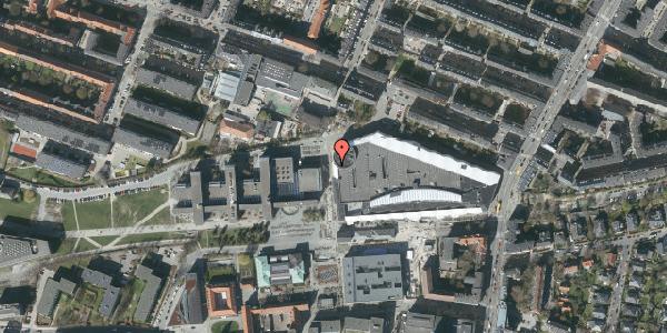 Oversvømmelsesrisiko fra vandløb på Solbjerg Plads 2C, 2000 Frederiksberg