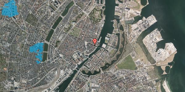 Oversvømmelsesrisiko fra vandløb på Nyhavn 20D, 1. , 1051 København K