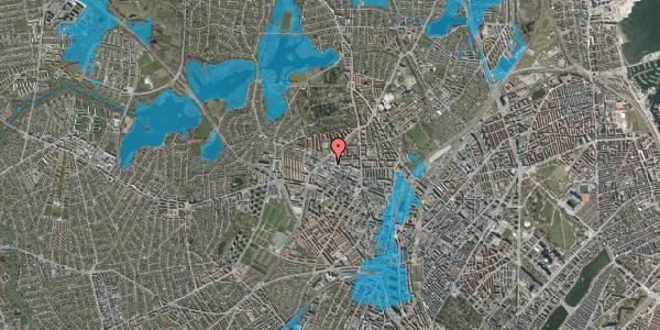Oversvømmelsesrisiko fra vandløb på Dortheavej 39A, 1. , 2400 København NV