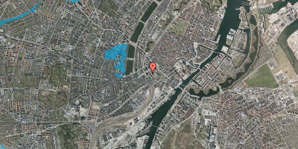 Oversvømmelsesrisiko fra vandløb på Bernstorffsgade 1B, 3. , 1577 København V