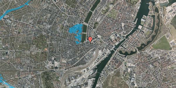 Oversvømmelsesrisiko fra vandløb på Vesterbrogade 12, 1. th, 1620 København V