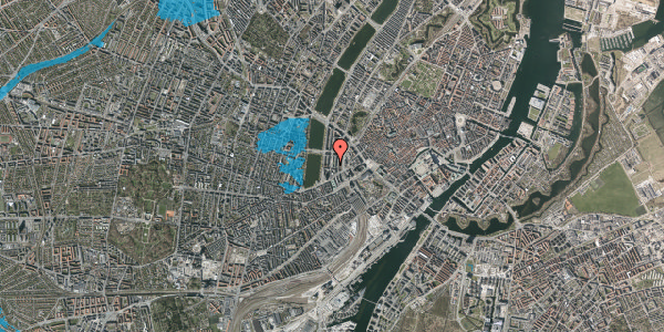 Oversvømmelsesrisiko fra vandløb på Nyropsgade 45, 5. , 1602 København V