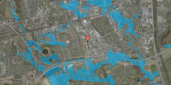 Oversvømmelsesrisiko fra vandløb på Park Alle 380, 2625 Vallensbæk
