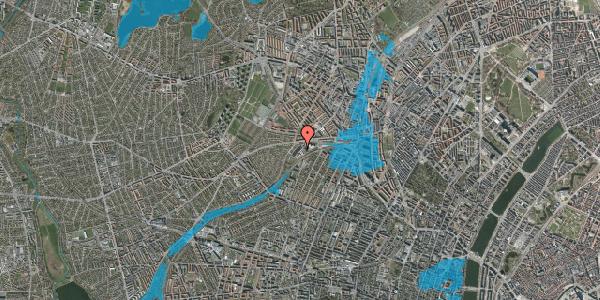 Oversvømmelsesrisiko fra vandløb på Jordbærvej 37, 2400 København NV