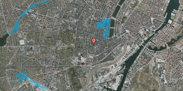 Oversvømmelsesrisiko fra vandløb på Vesterbrogade 124A, 1620 København V