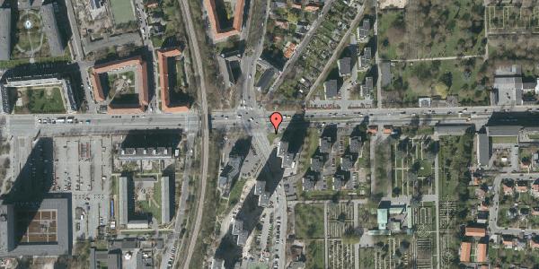 Oversvømmelsesrisiko fra vandløb på Roskildevej 67, 2000 Frederiksberg