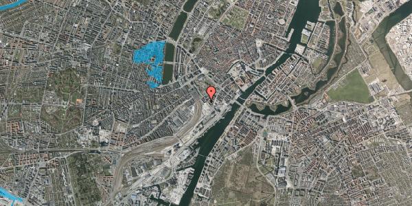 Oversvømmelsesrisiko fra vandløb på Bernstorffsgade 32, 1577 København V