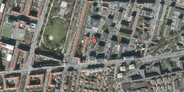 Oversvømmelsesrisiko fra vandløb på H.V. Nyholms Vej 4, 2000 Frederiksberg