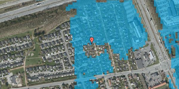 Oversvømmelsesrisiko fra vandløb på Hf. Kettehøj 37, 2650 Hvidovre