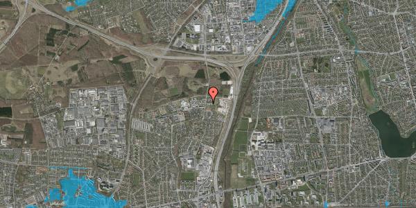 Oversvømmelsesrisiko fra vandløb på Stisager 28, 2600 Glostrup