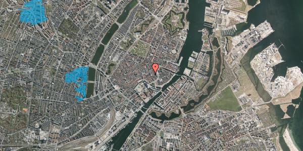 Oversvømmelsesrisiko fra vandløb på Vingårdstræde 8, 1070 København K