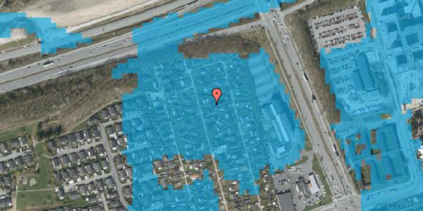 Oversvømmelsesrisiko fra vandløb på Hf. Kettehøj 73A, 2650 Hvidovre