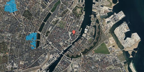 Oversvømmelsesrisiko fra vandløb på Heibergsgade 8, 1056 København K