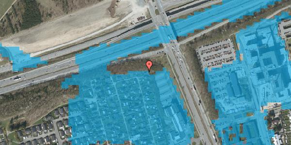 Oversvømmelsesrisiko fra vandløb på Hf. Kettehøj 108, 2650 Hvidovre