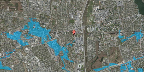 Oversvømmelsesrisiko fra vandløb på Søndervangsvej 41, 2600 Glostrup