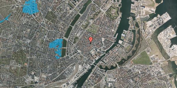 Oversvømmelsesrisiko fra vandløb på Klosterstræde 9, 2. , 1157 København K