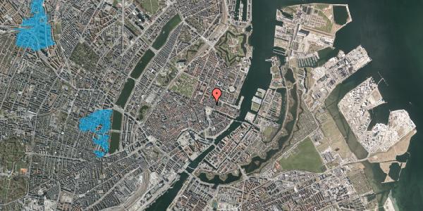 Oversvømmelsesrisiko fra vandløb på Kongens Nytorv 6A, 1050 København K