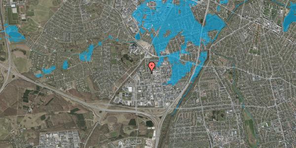 Oversvømmelsesrisiko fra vandløb på Ydergrænsen 52, 2600 Glostrup