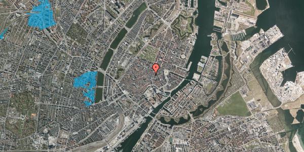 Oversvømmelsesrisiko fra vandløb på Silkegade 6, 1113 København K