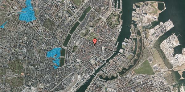 Oversvømmelsesrisiko fra vandløb på Pilestræde 56, 1. , 1112 København K
