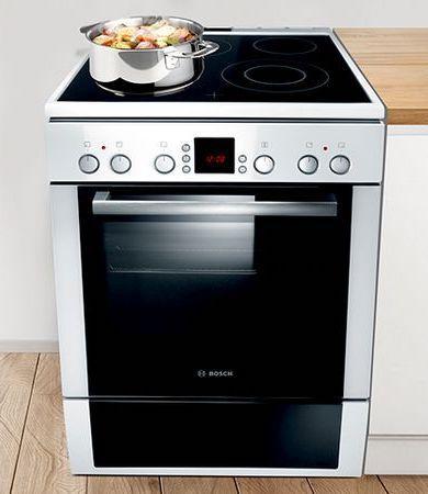 Keramische kookplaat oven