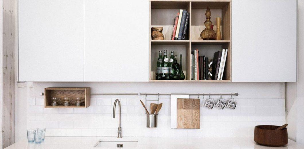 Planken in kleine keuken