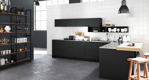 Woonkamer en keuken in één ruimte