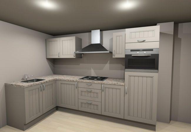 Keukenrenovatie voor en na