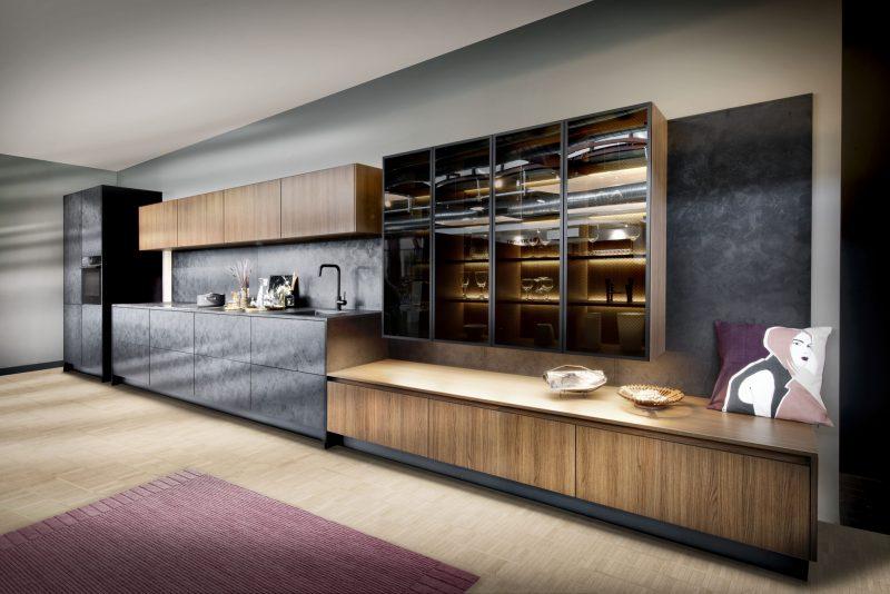 Complete rechte keuken