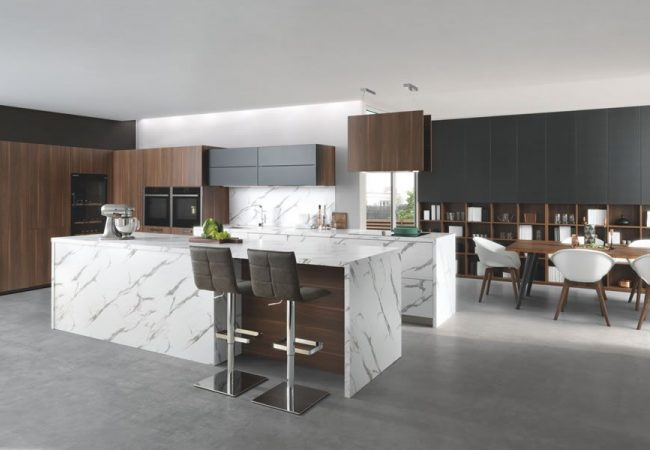 Keuken met keukeneiland