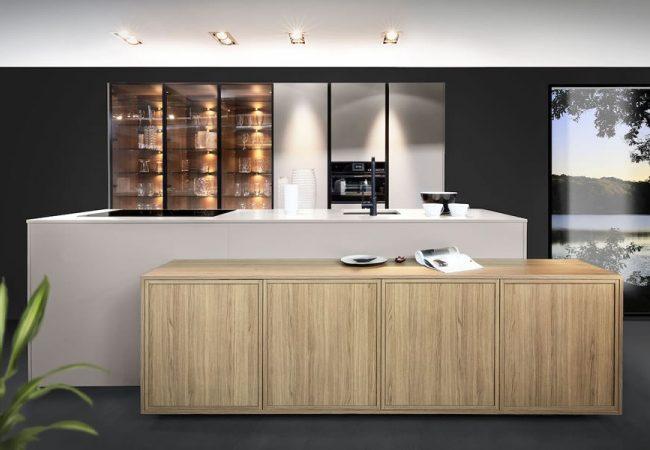 Moderne keukens met hout