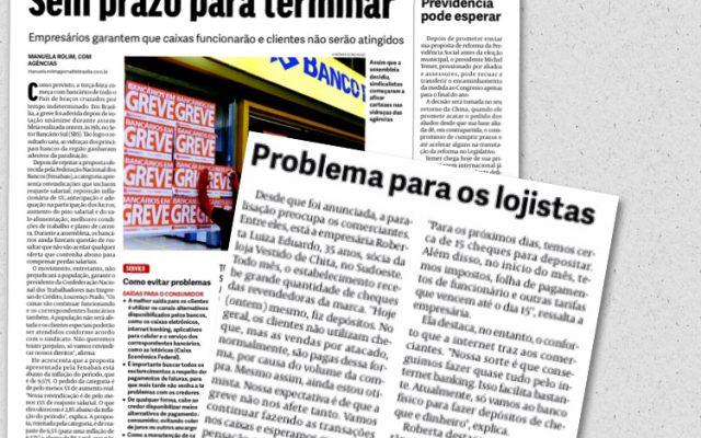 Sócia da Vestido de Chita comenta impactos da greve dos bancários no comércio