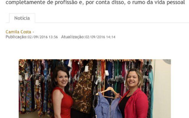 Vestido de Chita na revista Encontro, do Correio Braziliense