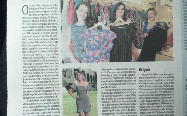 A história da Vestido de Chita no Correio Braziliense