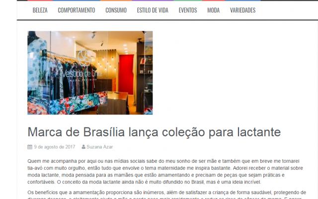 Blog Suzanices fala sobre nossas roupas para amamentação