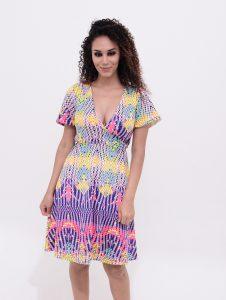 vestido decote ideal para amamentação