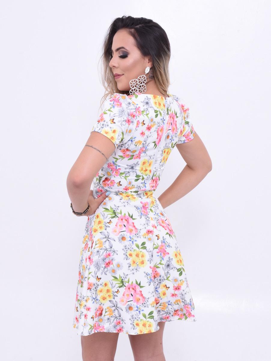 Vestido floridinho