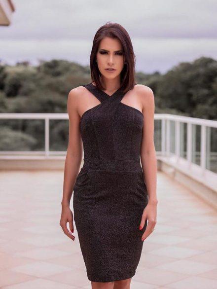 Vestido de festa Adriana Santanna