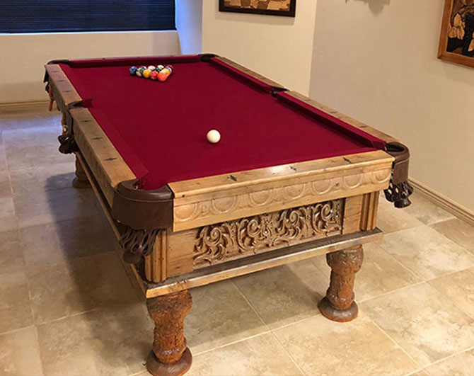Gary Mast Pool Table