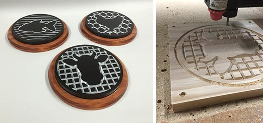Beef, Poultry & Fish Trivets
