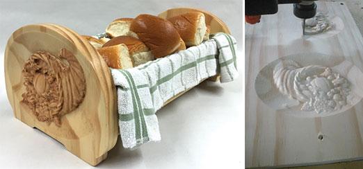 Cornucopia Bread Server