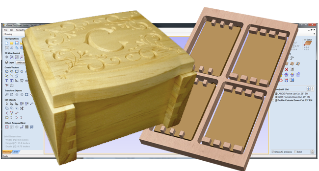Finger-Joint Box