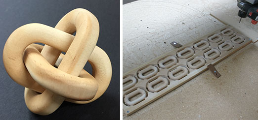 Vectric Wooden Chain