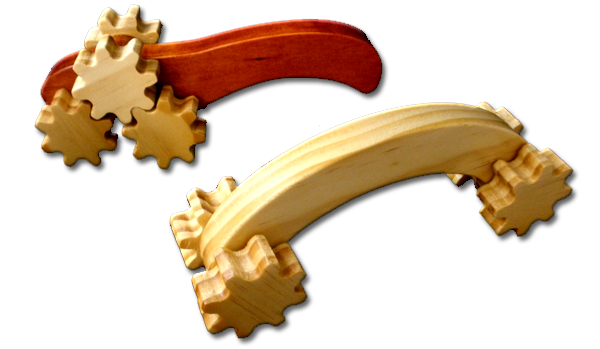 Wooden Roller Massagers
