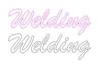 Welding Text