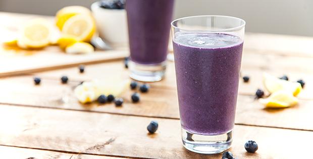 Blueberry Lemon Tart Smoothie