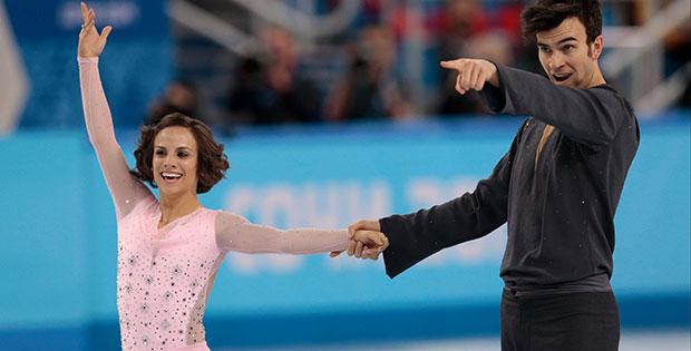 Meagan Duhamel and Eric Radford Sotchi Dancing